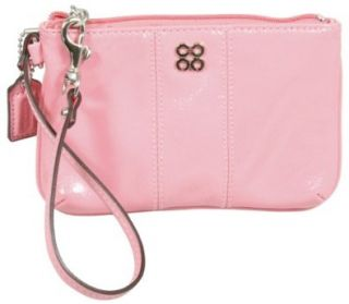 Patent Leather Wristlet Wallet Case for iPhone 47509 Light Pink Shoes