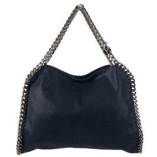 Stella McCartney Falabella Blue Faux Leather Shopper Bag