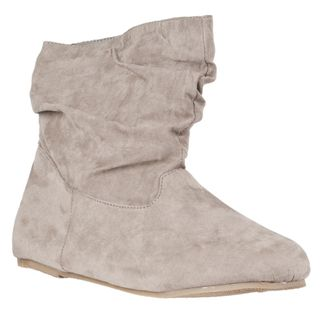 Riverberry Womens Rebeca Mid calf Slouchy Boots