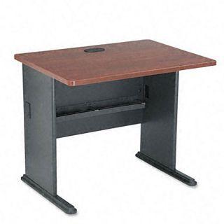 Bush Advantage Hansen 36 inch Cherry Computer Desk