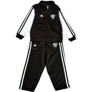 NBA adidas Brooklyn Nets Toddler Full Zip Track Jacket and
