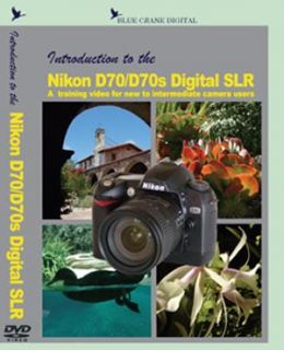 Nikon D70/ D70s Digital Camera Body Training DVD