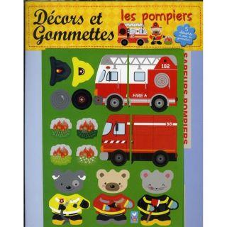 Les pompiers ; décors et gommette   Achat / Vente livre Patrick