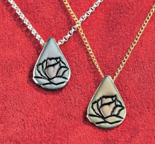 Memorial Tear® Sterling Silver Necklace Clothing