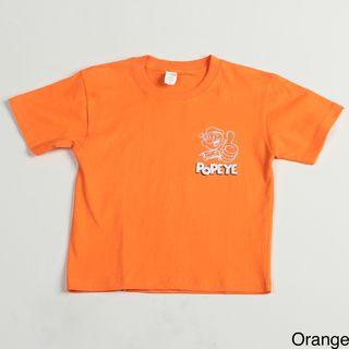 Printed Popeye Boys Tee Shirt