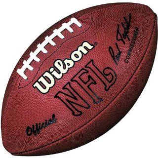 Jim Brown Autographed Football with HOF 71 Inscription