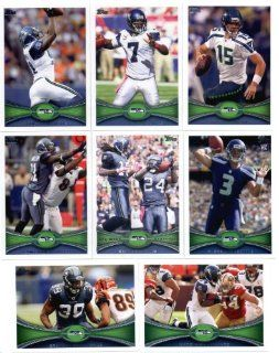 2012 Topps Seattle Seahawks NFL Team Set In Collectors