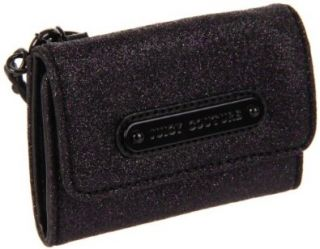 Juicy Couture Simply Stardust Card Case,Black,One Size Shoes