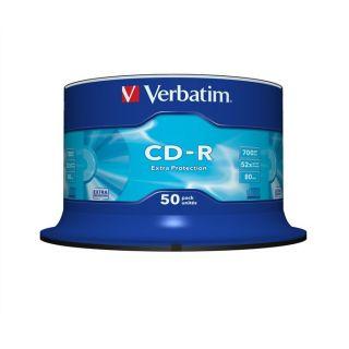 Verbatim CDR 80 min 52x (50)   Achat / Vente CD   DVD   BLU RAY VIERGE