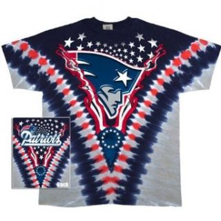 New England Patriots   Logo V Dye T Shirt Sports