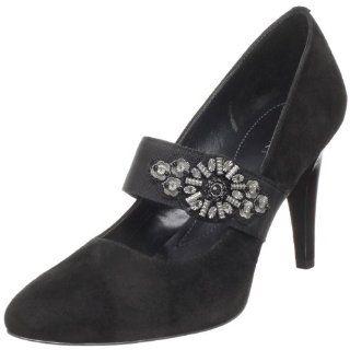 Tahari Womens Eva Mary Jane Pump,Black,11 M US Shoes