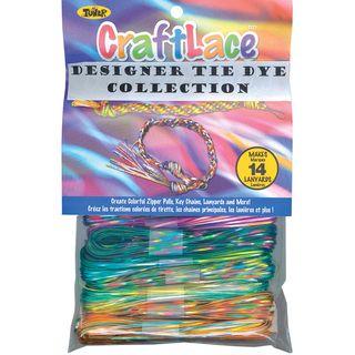 Craft Lace 25 Feet 12/Pkg Tie Dye