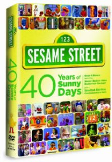 Sesame Street 40 Years Of Sunny Days (DVD)