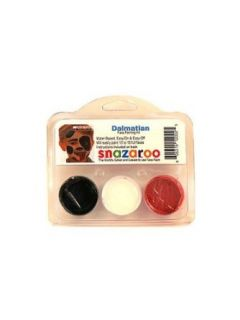 Snazaroo Dalmation Face Paint Theme Kit Clothing