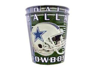 NFL Dallas Cowboys Cups (16 Ounce, 2 Pack) Sports