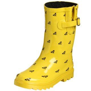 Toddler/Little Kid Honey Bee Rain Boot,Yellow,3 M US Little Kid Shoes