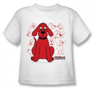 Clifford The Big Red Dog   Character Juvee T Shirt In