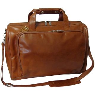 Amerileather 18 inch Leather Carry on Weekend Duffel Bag