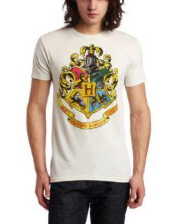 Bioworld Mens Harry Potter Hogwarts Crest Tee Clothing