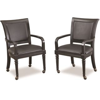 Home Styles St Croix Black Game Chair (Set of 2)
