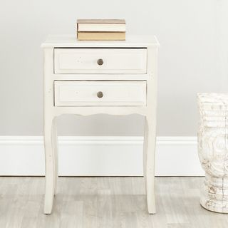 Sete White Night Stand