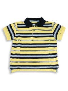 E Land   Toddler Boys Short Sleeved Polo Shirt, Yellow