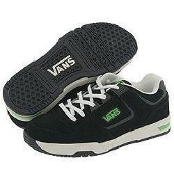 Vans Kids Bedbug (Toddler/Youth) Black/Neon Green(Size 12.5 Youth M