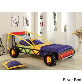 Enitial Lab Sporty Car Twin Size Bed