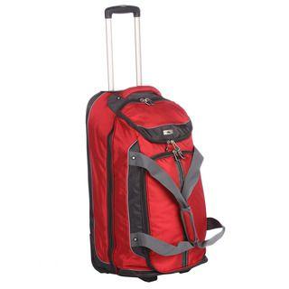 High Sierra 28 inch Wheeled Drop bottom Upright Duffel Bag