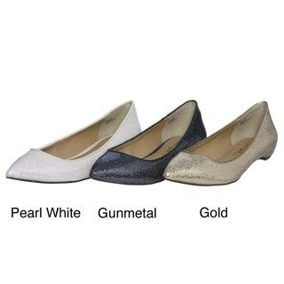 Report Womens Gonzalez2 Sparkling Pointed Toe Flats