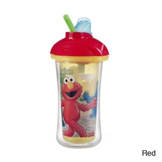 Munchkin Sesame Street 9 ounce Click lock Insulated Straw Cup