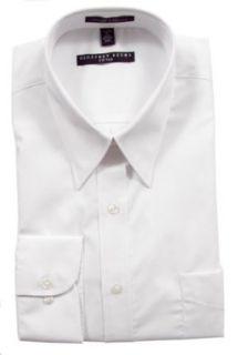 Geoffrey Beene Fitted Dress Shirt White (Point Collar