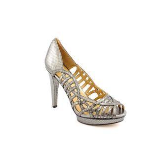Nine West Womens SpeedUp L Animal Print Dress Shoes