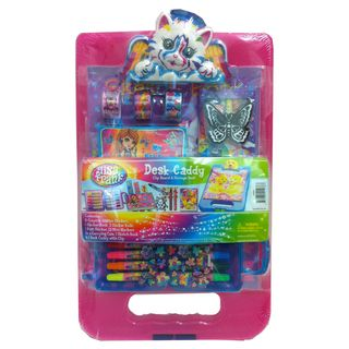 Lisa Frank Desk Caddy with Angel Kitty Clip
