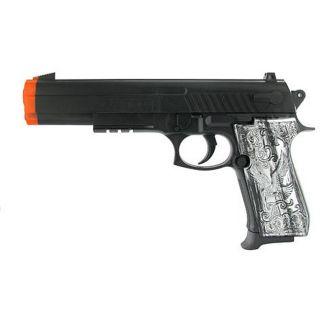 Spring Custom Grip .45 Pistol FPS 150 Airsoft Gun