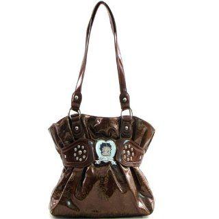 Betty Boop Emblem Fashion Handbag: Shoes