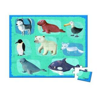 JANOD   Puzzle 36 pièces   Lovely Puzzle  Animaux de la banquise