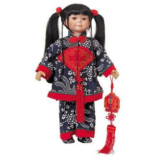 Tradition Collectible 18 inch Ping Porcelain Doll