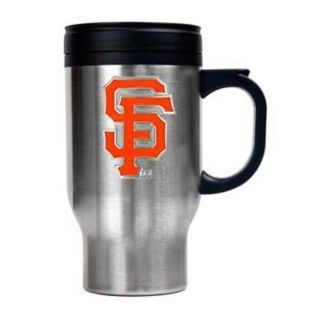 San Francisco Giants 16 oz Stainless Steel Travel Mug