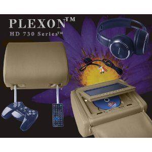 Plexon®   Headrest DVD Player   One Set of 2 Headrests
