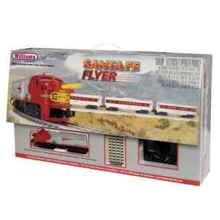 Bachmann O Scale Santa Fe Flyer Train Set