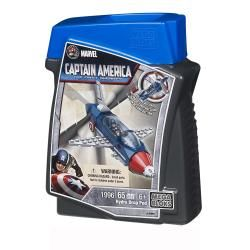 Mega Bloks Marvel Captain America Drop Pod Play Set
