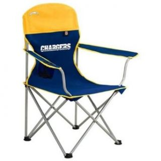 San Diego Chargers Deluxe Folding Arm Chair   One Size