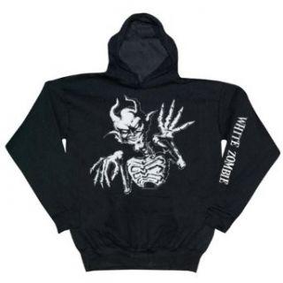 White Zombie   White Demon Hooded Sweatshirt Clothing