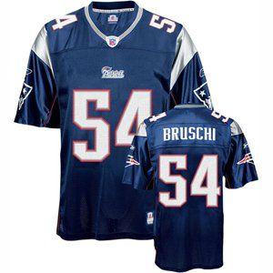 Teddy Bruschi #54 New England Patriots NFL Replica Player