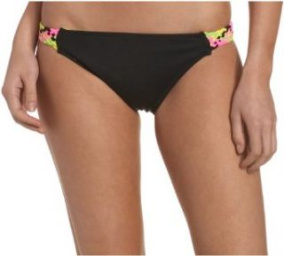 Roxy Juniors Rock With You Super Low Reversible Bikini