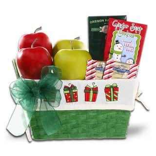 Healthy Holiday Treats Gift Basket