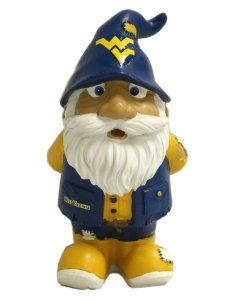 West Virginia Mountaineers WVU NCAA Garden Gnome   8