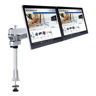 Cotytech Dual Apple Monitor Desk Mount Quick Release