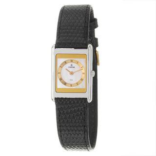 Concord Delirium Womens White Dial Strap Watch